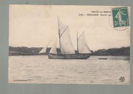 CP - 22 - Tréguier - Navire Sortant Du Port - Tréguier