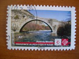 France  Obl  N° 1772  Cachet Rond Noir - Autoadesivi