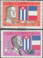 Cuba 1110-1111 (complete Issue) Unmounted Mint / Never Hinged 1965 André Voisin - Nuevos