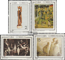 Cuba 1010-1013 (complete Issue) Unmounted Mint / Never Hinged 1965 Art - Nuevos