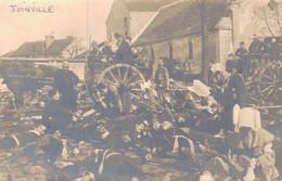 52 - JOINVILLE / CARTE PHOTO SOLDATS BLESSES ET MORTS - Joinville