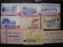 Lot 2 De 9 BUVARDS Blotting Paper Löschpapier 吸取紙 промокательная бумага 吸墨纸 - Collections, Lots & Series