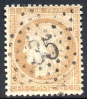 YT 59 OBLITERATION ETOILE DE PARIS 35 - TRES BEAU SANS DEFAUT - 1871-1875 Ceres
