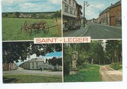Saint Léger ( Carte Ayant Voyagé ) - Saint-Léger