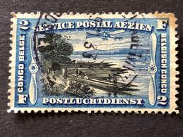 COB PA3  2f Bleu - Airmail: Used