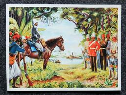 Image Points IMA Chromo - Belle Histoire Union Française Série C N°10 Commandant MARCHAND & Général KITCHENER à FACHODA - Other