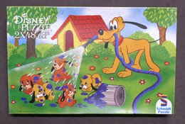 Disney Puzzle 2 X 48 Pieces - Schmidt Puzzle Pluto 625 2914 - Anni 60/70 - Non Classificati