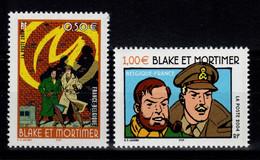 YV 3669 / 3670 N** Blake Et Mortimer - Prix = Faciale - Nuevos