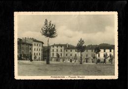 Cartolina Poggibonsi Piazzale Mazzini - Siena