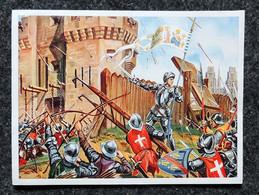 Image Points IMA Chromo Ami Sur Péniche Série D N5 Jeanne D'ARC Délivre ORLÉANS En 1429 - Otros
