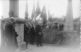 CARTE PHOTO - ALENCON - FIN DE LA GUERRE 1914 - 1918 - CEREMONIE EN L'HONNEUR DES MORTS - Alencon