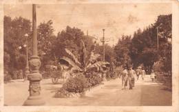 """9957""""SALSOMAGGIORE-VIALE ROMAGNOSI"""" ANIMATA-VERA FOTO-CARTOLINA SPEDITA 1934 - Parma"""