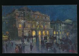 Milano - Piazza E Teatro Della Scala [Z17-0.406 - Sin Clasificación