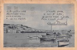 """9958""""NAPOLI-MERGELLINA-PANORAMA DAL RIONE SANNAZARO-POSILLIPO""""PUBBLICITA' CONC. SPEME-VERA FOTO-CARTOLINA SPEDITA 1932 - Napoli (Naples)"""