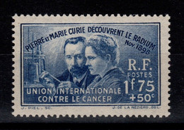 YV 402 Curie N** Cote 27 Euros - Ungebraucht