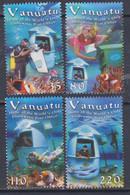 VANUATU N° 1172 / 75 XX Le Bureau De Poste Sous-marin De Vanuatu, La Série Des 4 Valeurs Sans Charnière, TB - Vanuatu (1980-...)