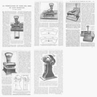 LA VERIFICATION Du POIDS Des OBUS Et Leurs MARQUAGES   1919 - Other