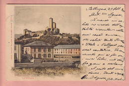 OUDE POSTKAART ZWITSERLAND -  SVIZZERA -      BELLINZONA - 1900'S - TI Ticino