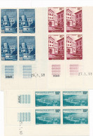 DS-485: MONACO: Lot Avec  Coins Datés** Des N°506-508-509 - Ongebruikt