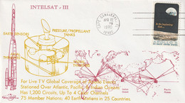 LETTRE - ESPACE - 22/04/1970 - INTELSAT III - Etats-Unis