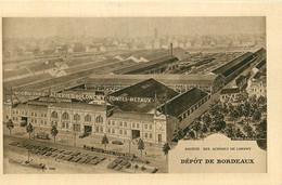SOCIETE DES ACIERIES DE LONGWY DEPOT DE BORDEAUX - Bordeaux