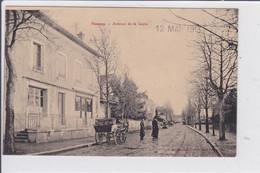NOMENY  *   Avenue De La Gare  -  CPA En Très Bon état - Nomeny
