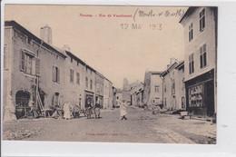 NOMENY  *   Rue De Vaudemont  -  CPA En Très Bon état - Nomeny