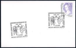 Italia Italy (2020) Special Postmark: Monselice; Tribute To Giovanni Battista Belzoni - Egyptology - Aegyptologie