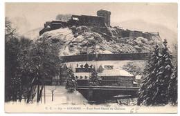 Lourdes , Face Nord Ouest Du Château - Lourdes