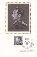 B01-199 Bel PTT Soie 2111 Royal Dynastie Léopold III FDC Sonstamp Sony Stamps 3€ - Cartoline Commemorative