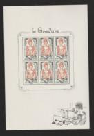"""FRANCE / 2020 / Y&T N° 5408A ** En Bloc Ou BF 150 ** (Feuillet """"La Gravure"""") X 1 - Unused Stamps"""