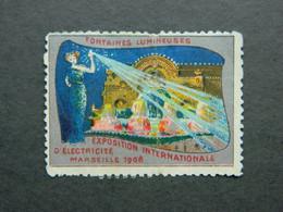Vignette Exposition Marseille électricité 1908 - Erinofilia