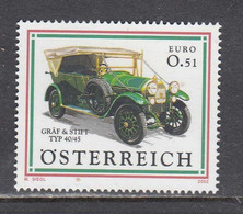 Austria 2002 - Automobile, Mi-Nr. 2392, MNH** - 2001-10 Neufs