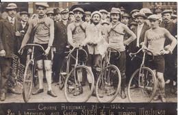 42 FIRMINY Course Régionale Les 4 Premiers Sur Cycles SIKER De La Maison Martourey - Firminy