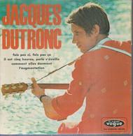 """45 Tours EP - JACQUES DUTRONC  - VOGUE 8611 - """" IL EST CINQ HEURES, PARIS S'EVEILLE """" + 3 - Other - French Music"""