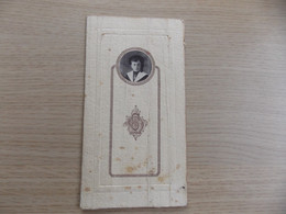 Menu Spijskaart Feestmaal Plechtige Communie Charles De Gomme 26/5/1921  Te Veurne En Het Prentje Van De Communie - Menus
