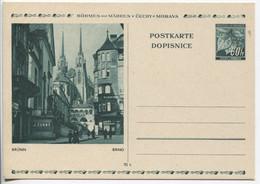 Böhmen Und Mähren Bildpostkarte P6 Bild 3 Brünn Ungebraucht - Storia Postale