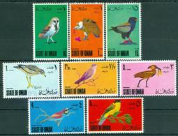 Birds, Barn Owl, Griffon Vulture, Hammerhead, Stone Curlew, Bee Eater, Oman, MNH - Búhos, Lechuza
