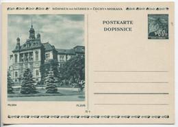 Böhmen Und Mähren Bildpostkarte P6 Bild 7 Pilsen Ungebraucht - Storia Postale