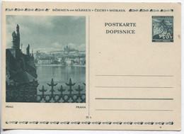 Böhmen Und Mähren Bildpostkarte P6 Bild 10 Prag Karlsbrücke Ungebraucht - Storia Postale