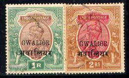 INDIA, (GWALIOR), NO.'S 61-62 - Gwalior