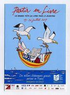 Partir En Livre. Juillet 2017. Grande Fête Du Livre Jeunesse Partout En France. Mouettes, Sternes, Lapin, Lecture, Océan - Other