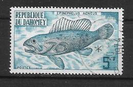 BENIN DAHOMEY   -1973 Fish       Ø - Bénin – Dahomey (1960-...)