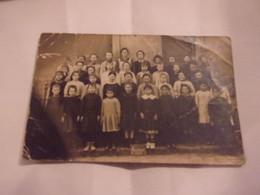 77 MOUROUX 1919  CARTE PHOTO  ECOLIERES PHOTO  ROCH DONNEMARIE PLIS - Sonstige Gemeinden