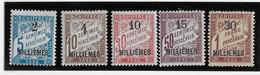 Alexandrie Taxe N°1/5 - N°2 Rousseur - Neuf  * Avec Charnière - B/TB - Neufs