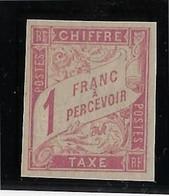Colonies Générales Taxe N°25 - Neuf  ** Sans Charnière - TB - Postage Due