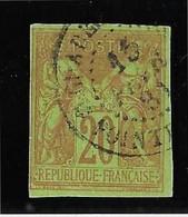 Colonies Générales N°42 - Oblitéré Guadeloupe - TB - Sage