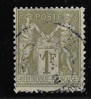France N°82 - Oblitéré - TB - 1876-1898 Sage (Type II)