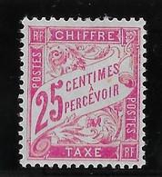 France Taxe N°32 - Neuf * Avec Charnière - TB - 1859-1955 Neufs