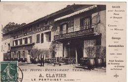 42 FIRMINY Grand Hôtel-Restaurant-Terminus A.Clavier - Firminy